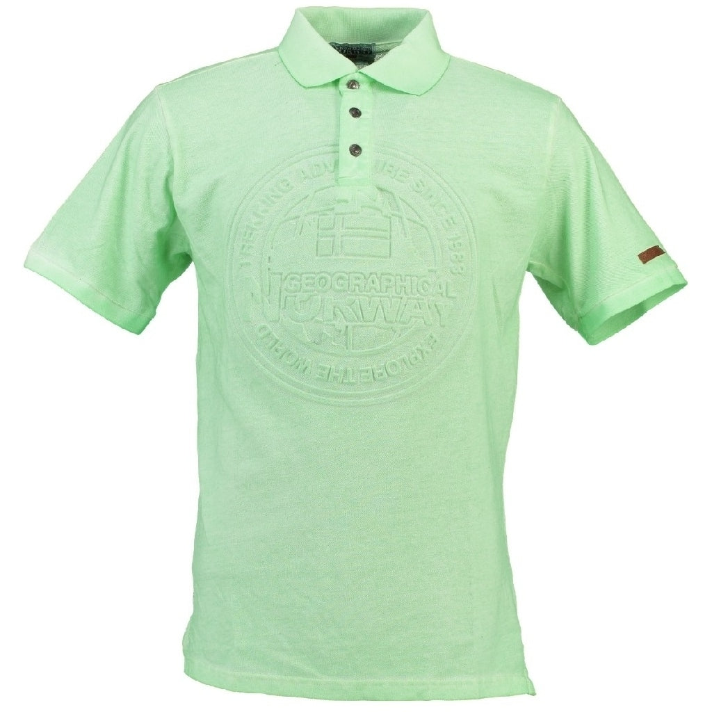 GEOGRAPHICAL NORWAY POLO Herre KARILLON - Green