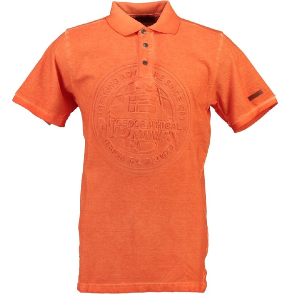 Geographical Norway GEOGRAPHICAL NORWAY POLO Herre KARILLON Polo Orange