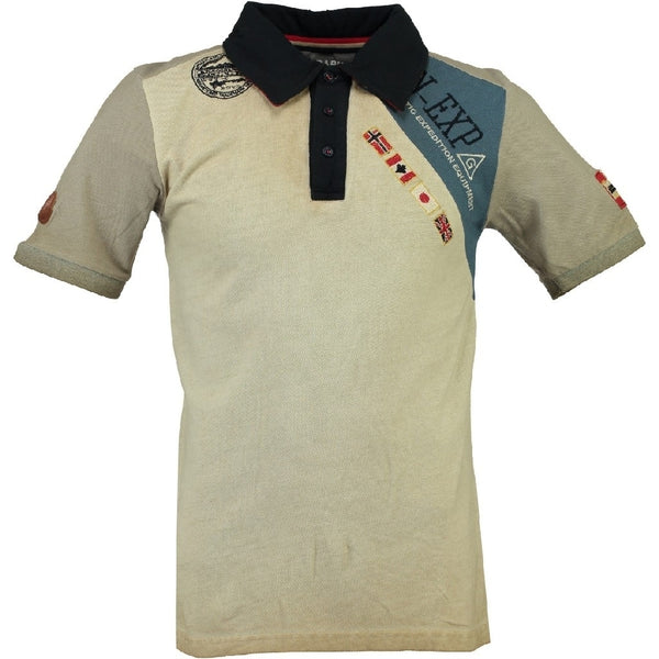 Geographical Norway GEOGRAPHICAL NORWAY POLO Herre KASRI Polo Beige