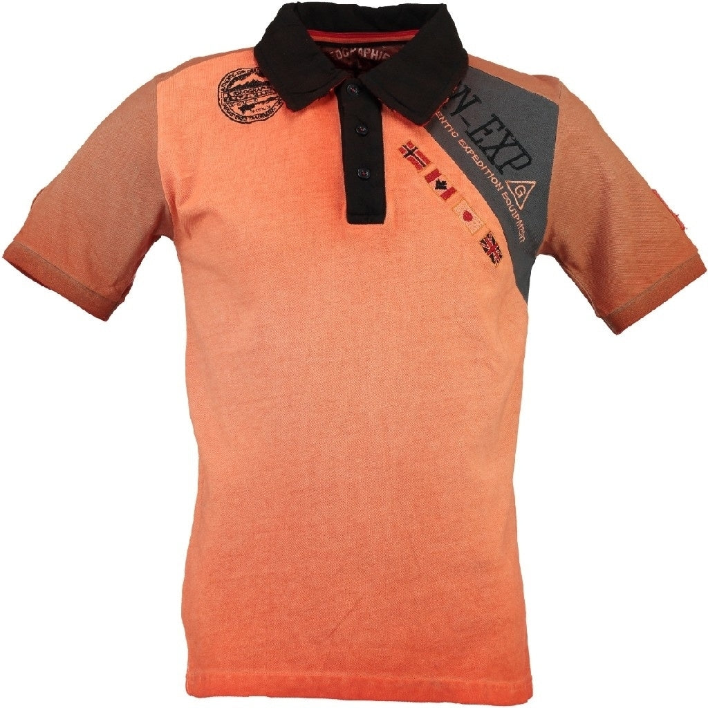 Geographical Norway Polo Herre KASRI - Coral