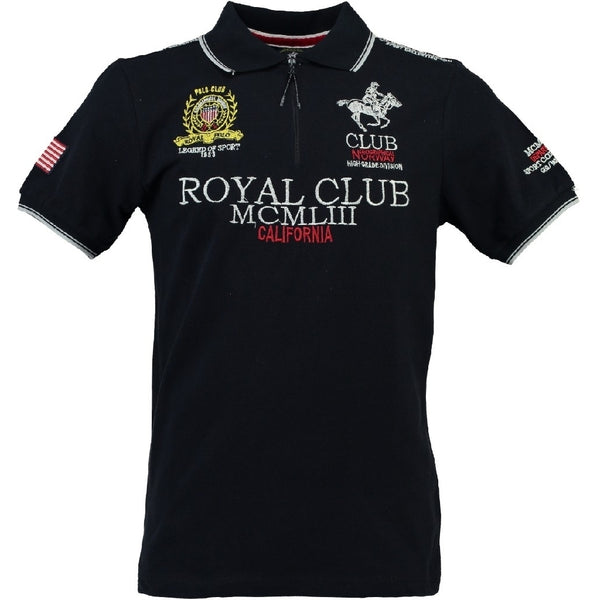 Geographical Norway GEOGRAPHICAL NORWAY POLO Herre KERATINE Polo Navy