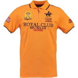 Geographical Norway GEOGRAPHICAL NORWAY POLO Herre KERATINE Polo Orange