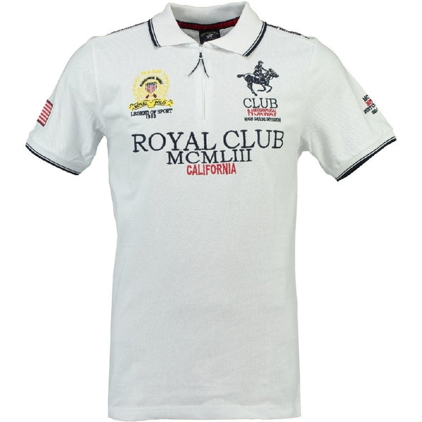 Geographical Norway GEOGRAPHICAL NORWAY POLO Herre KERATINE Polo White