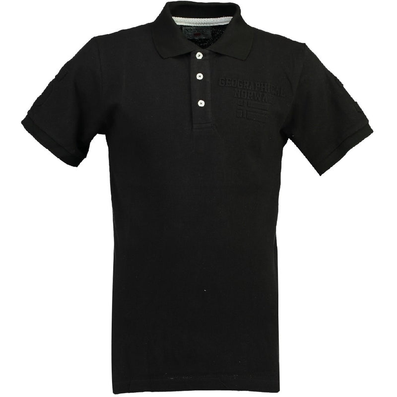 Geographical Norway GEOGRAPHICAL NORWAY POLO Herre KEYTHEN Polo Black