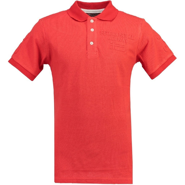 Geographical Norway GEOGRAPHICAL NORWAY POLO Herre KEYTHEN Polo Red