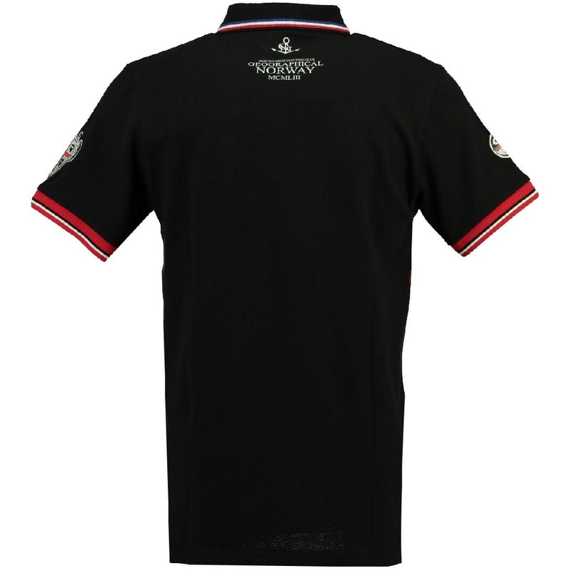 Geographical Norway GEOGRAPHICAL NORWAY POLO Herre KINGSLEY Polo Black