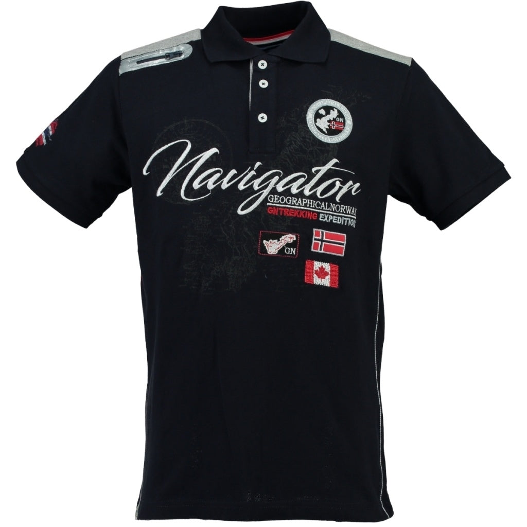 GEOGRAPHICAL NORWAY POLO Herre KRIMINEL - Navy
