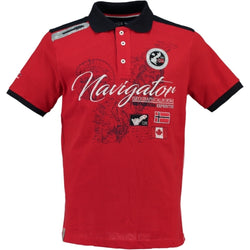 Geographical Norway GEOGRAPHICAL NORWAY POLO Herre KRIMINEL Polo Red