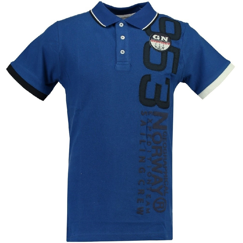 Geographical Norway GEOGRAPHICAL NORWAY POLO Herre Kandi Polo Blue