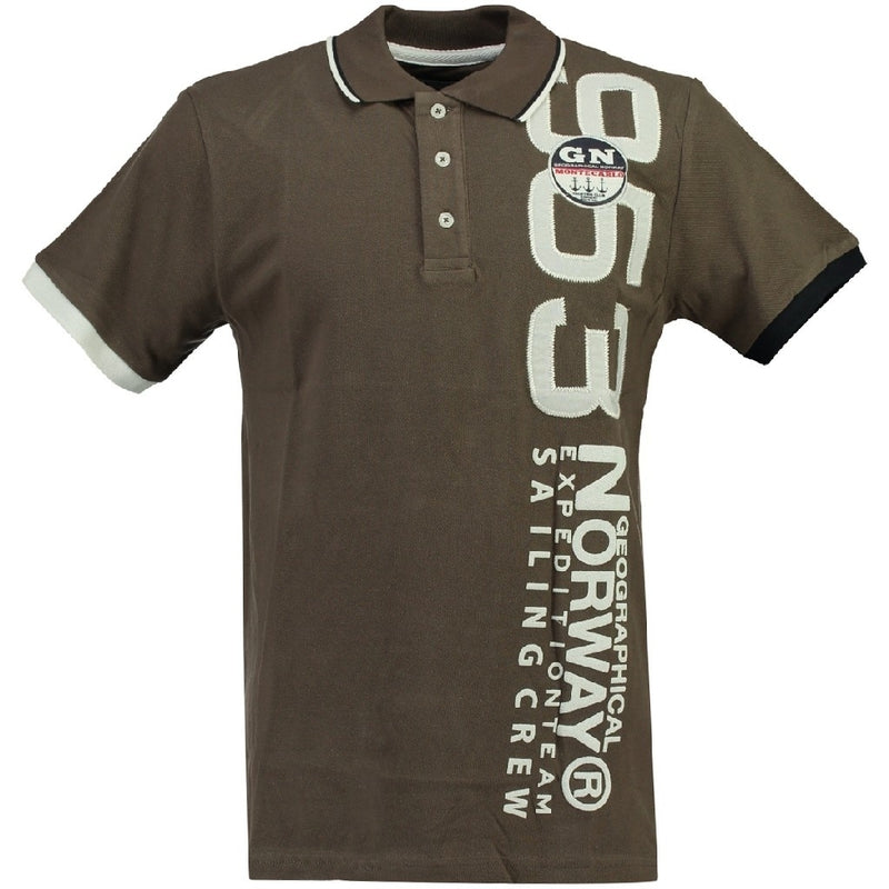 Geographical Norway GEOGRAPHICAL NORWAY POLO Herre Kandi Polo Khaki