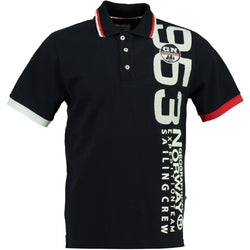 Geographical Norway GEOGRAPHICAL NORWAY POLO Herre Kandi Polo Navy