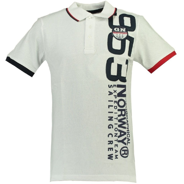Geographical Norway GEOGRAPHICAL NORWAY POLO Herre Kandi Polo White