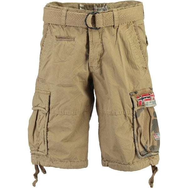 Geographical Norway GEOGRAPHICAL NORWAY Shorts Herre PASTEQUE Shorts Beige