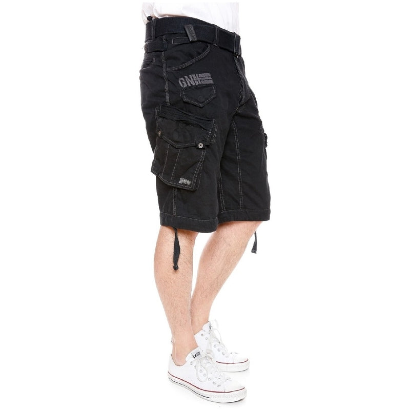 Geographical Norway GEOGRAPHICAL NORWAY Shorts Herre PERICOLO Shorts Black