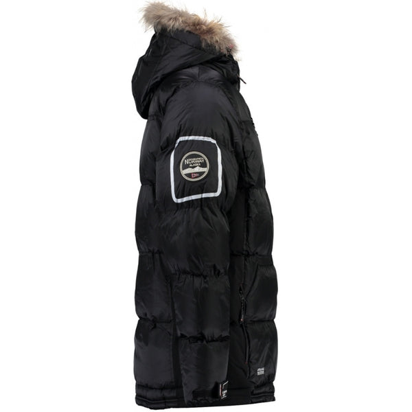 Geographical Norway GEOGRAPHICAL NORWAY Skijakke Vinterjakke Herre DANONE Winter jacket Black
