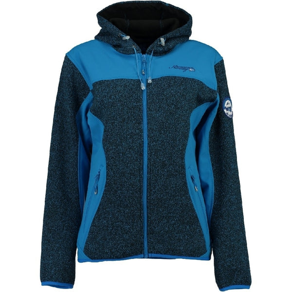 Geographical Norway GEOGRAPHICAL NORWAY Softshell Dame TILLEUL Softshell Blue