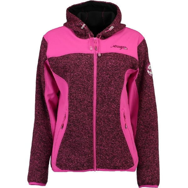 Geographical Norway GEOGRAPHICAL NORWAY Softshell Dame TILLEUL Softshell Pink