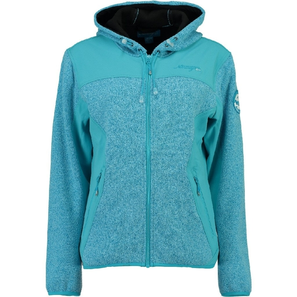 GEOGRAPHICAL NORWAY Softshell Dame TILLEUL - Turkis