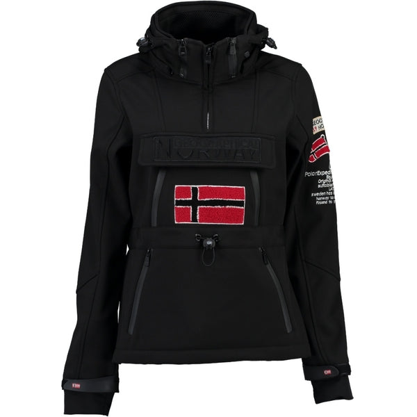 Geographical Norway GEOGRAPHICAL NORWAY Softshell Dame TULBEUSE Softshell Black