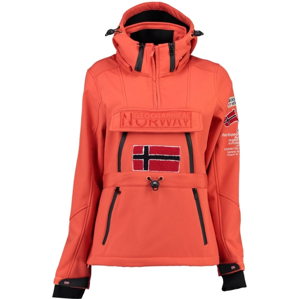 GEOGRAPHICAL NORWAY Softshell Dame TULBEUSE - Corail