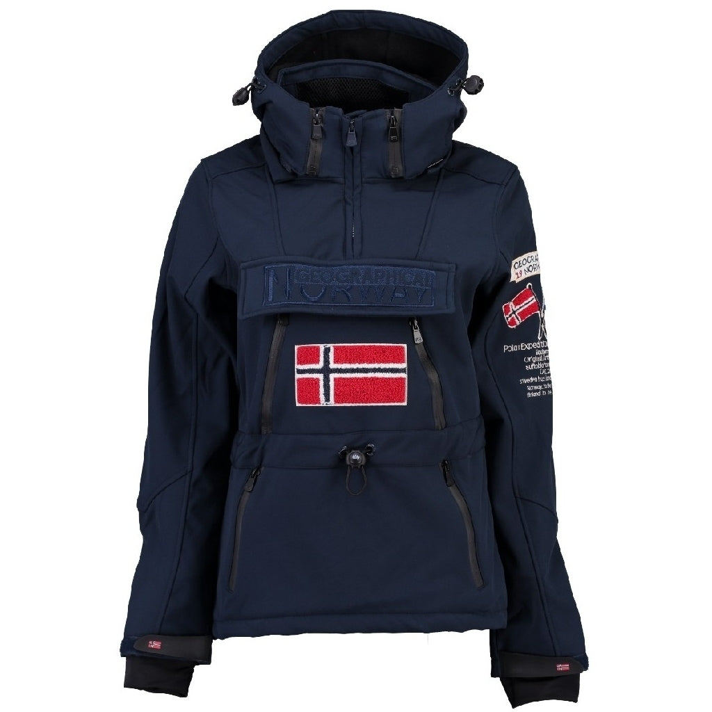 GEOGRAPHICAL NORWAY Softshell Dame TULBEUSE - Navy
