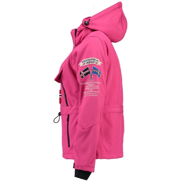 Geographical Norway GEOGRAPHICAL NORWAY Softshell Dame TULBEUSE Softshell Pink