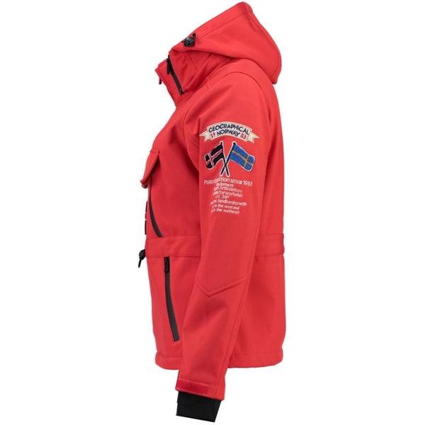 Geographical Norway GEOGRAPHICAL NORWAY Softshell Dame TULBEUSE Softshell Red