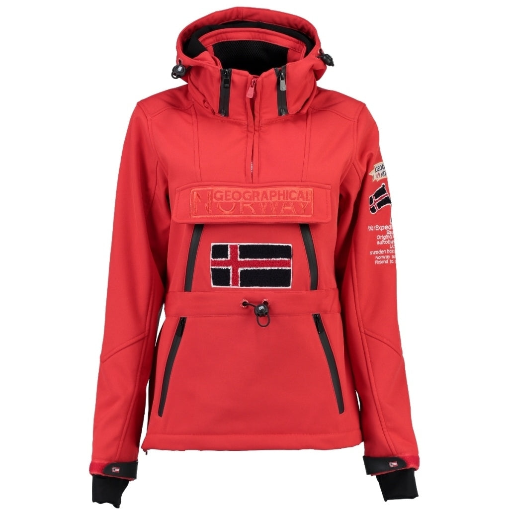 GEOGRAPHICAL NORWAY Softshell Dame TULBEUSE - Red