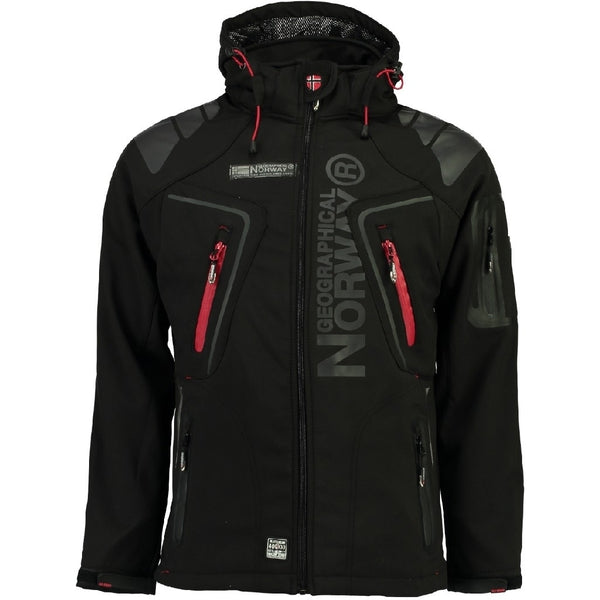 Geographical Norway GEOGRAPHICAL NORWAY Softshell Herre TECHNO Softshell Black