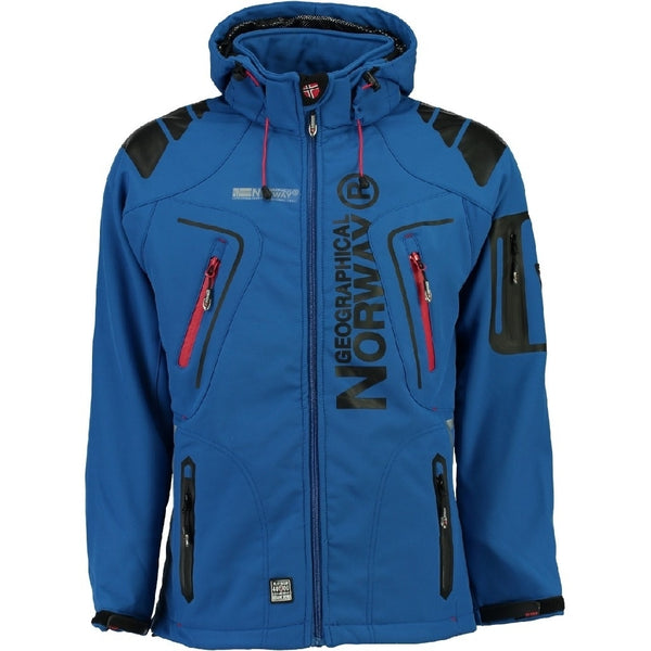 Geographical Norway GEOGRAPHICAL NORWAY Softshell Herre TECHNO Softshell Blue