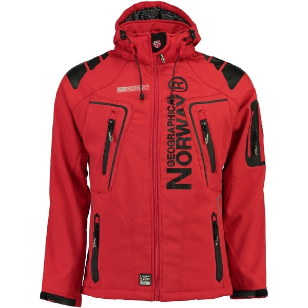 Geographical Norway GEOGRAPHICAL NORWAY Softshell Herre TECHNO Softshell Red