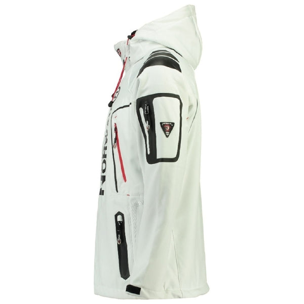 Geographical Norway GEOGRAPHICAL NORWAY Softshell Herre TECHNO Softshell White