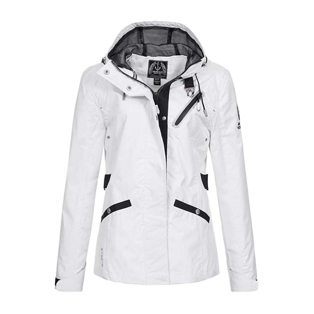 Image of   GEOGRAPHICAL NORWAY Sommerjakke Dame BRICKLE - White - L