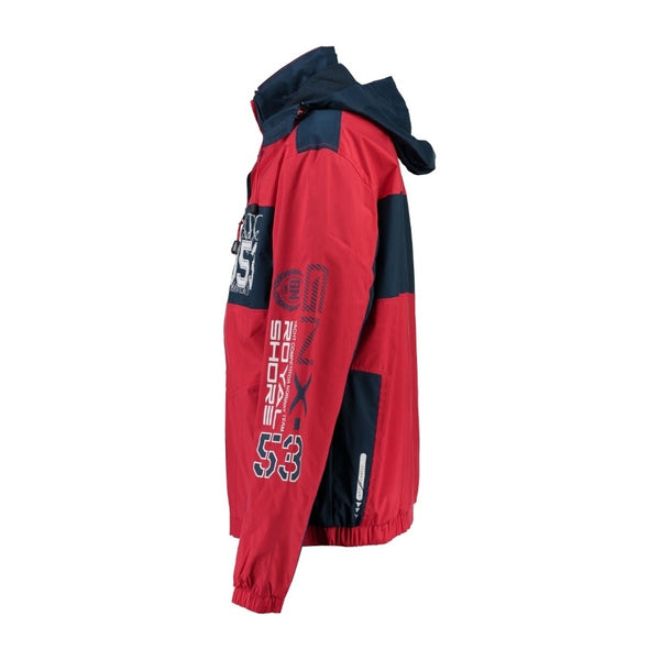 Geographical Norway GEOGRAPHICAL NORWAY Sommerjakke Herre CLAPPING Spring jacket Navy - Red