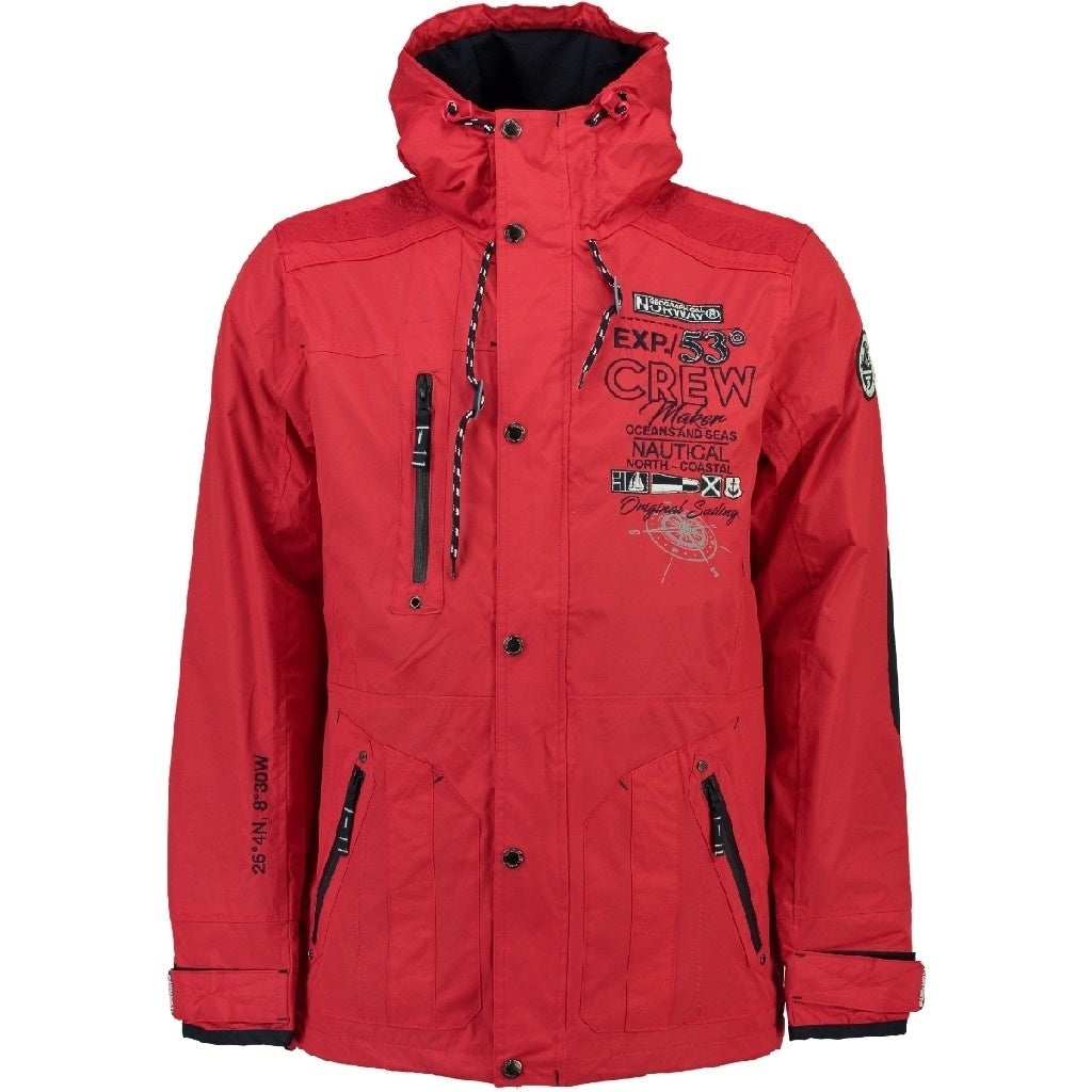 GEOGRAPHICAL NORWAY Sommerjakke Herre CLEMENT - Red