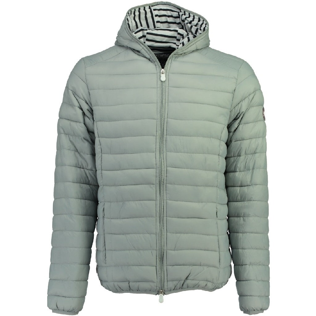 Billede af GEOGRAPHICAL NORWAY vinterjakke Herre DUNE MEN HOOD - Light Grey
