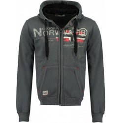 Geographical Norway GEOGRAPHICAL NORWAY Sweatshirt Herre Gisland Sweatshirt Dark Grey