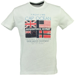 Geographical Norway GEOGRAPHICAL NORWAY T-shirt Herre JIMARE T-shirt White