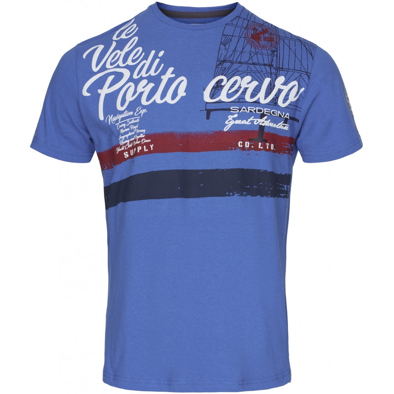 Geographical Norway GEOGRAPHICAL NORWAY T-shirt Herre JINGSLEY ROYAL BLUE T-shirt Royal Blue