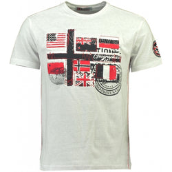 Geographical Norway GEOGRAPHICAL NORWAY T-shirt Herre JOFLAG T-shirt White