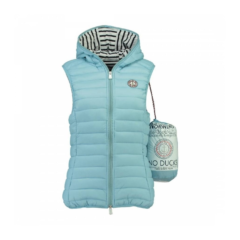 Image of   GEOGRAPHICAL NORWAY Vest Dame VINETTE LADY - Light blue - L