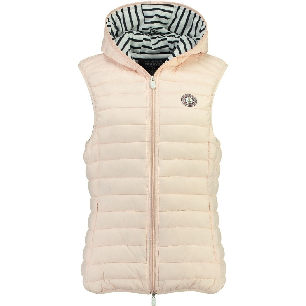 Image of   GEOGRAPHICAL NORWAY Vest Dame VINETTE LADY - Rose - L