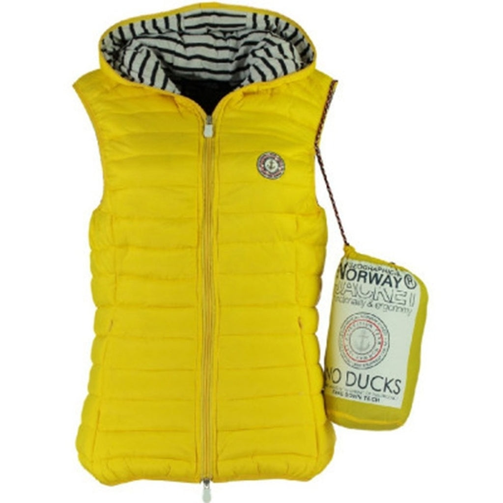 Image of   GEOGRAPHICAL NORWAY Vest Dame VINETTE LADY - Yellow - L
