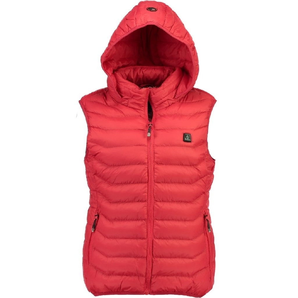 GEOGRAPHICAL NORWAY Vest Dame WARM UP VEST - Red
