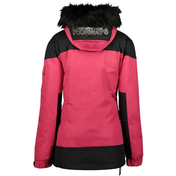Geographical Norway GEOGRAPHICAL NORWAY Vinterjakke Anorak Dame Bruna Winter jacket Fushia