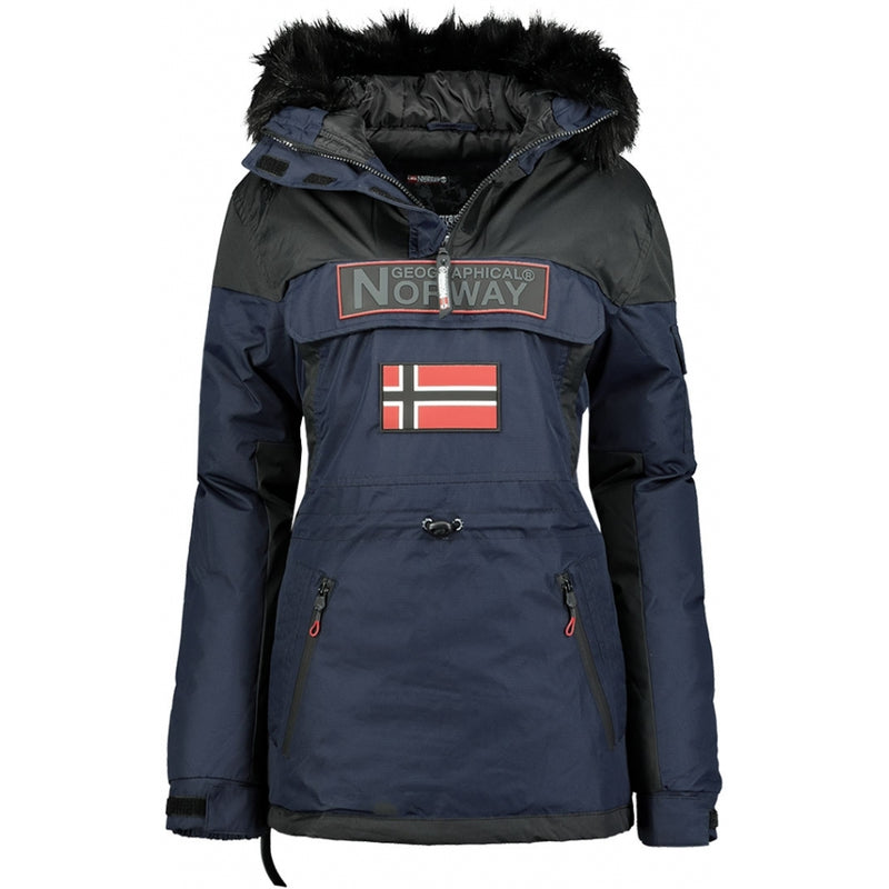 Geographical Norway GEOGRAPHICAL NORWAY Vinterjakke Anorak Dame Bruna Winter jacket Navy