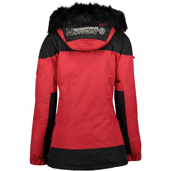 Geographical Norway GEOGRAPHICAL NORWAY Vinterjakke Anorak Dame Bruna Winter jacket Red