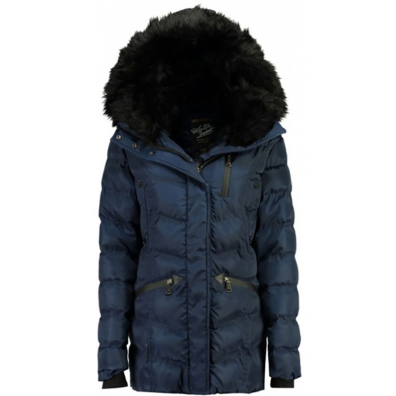 Geographical Norway GEOGRAPHICAL NORWAY Vinterjakke Dame DOCTOR Winter jacket Navy