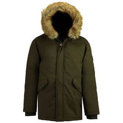Geographical Norway GEOGRAPHICAL NORWAY Vinterjakke Herre BAGWAY Winter jacket Khaki