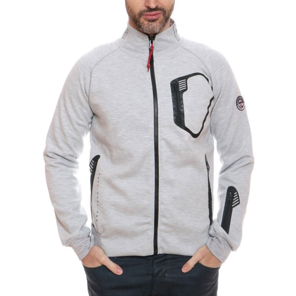 Geographical Norway GEOGRAPHICAL NORWAY fleecetrøje Herre FERIO Sweatshirt Grey